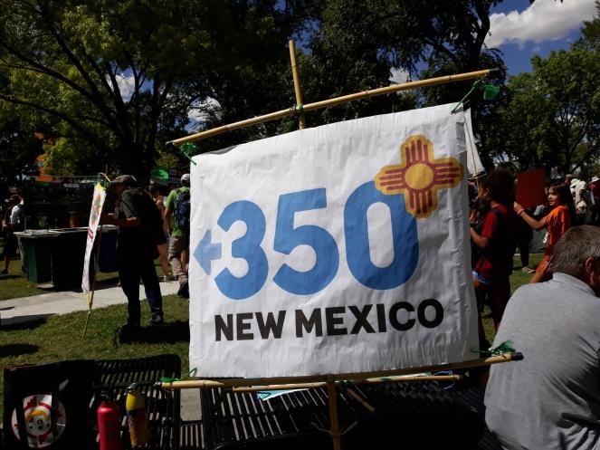 2019-09-20 ABQ Climate Strike 350NM Banner