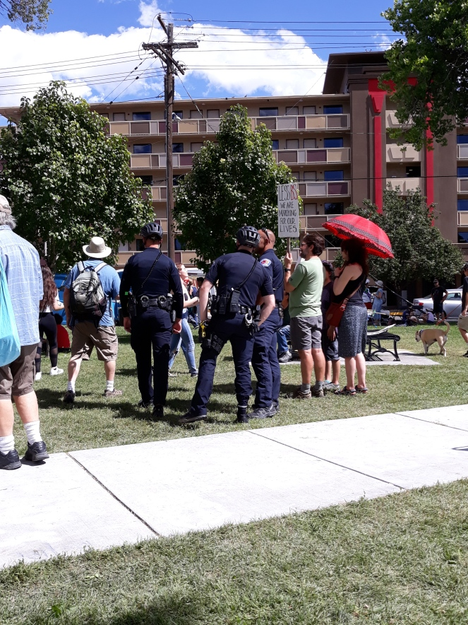 2019-09-20 ABQCS Peaceful Protest